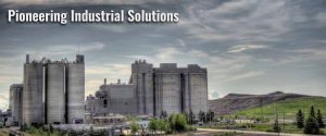 photo of a cement factory